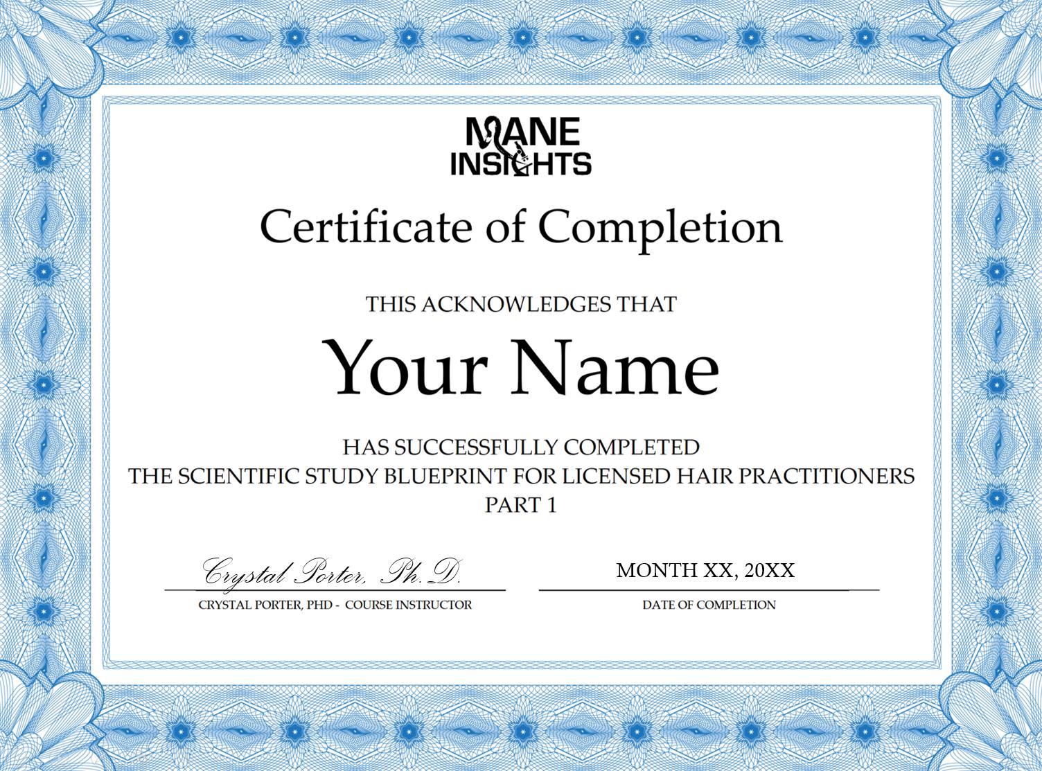 scientific study blueprint registration