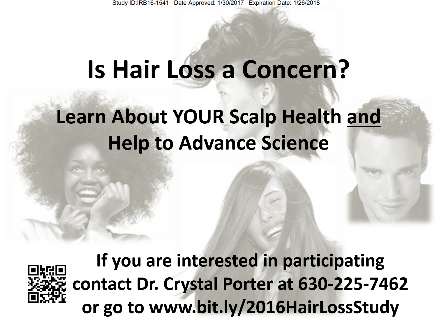 Alopecia, Hair Thinning, Hair Loss Study