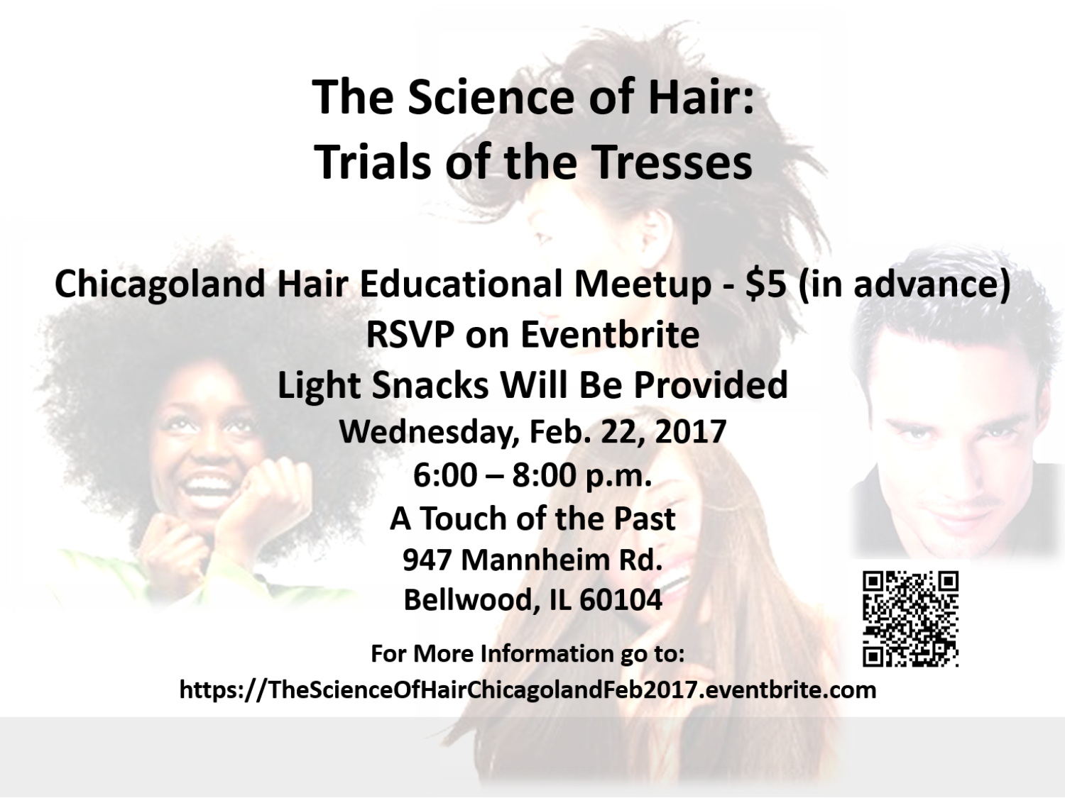 Trials of the Tresses Chicagoland Hair Educational Meetup